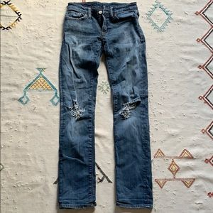 DENIM AND SUPPLY STRAIGHT LEG JEANS 26/32